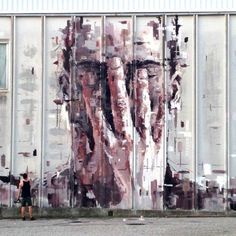The work of Borondo in Arcidosso, Italy #streetart #borondo