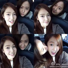the jung sisters #snsd #fx