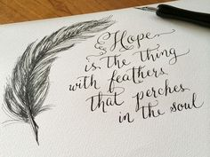 777 Best Hope Is The Thing With Feathers Images In 2019