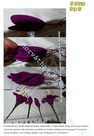 Horgolásról csak magyarul.: AMARILLISZ Crochet Flowers, Crochet Necklace, Decor, Decoration, Decorating, Crocheted Flowers, Dekoration, Yarn Flowers, Deck