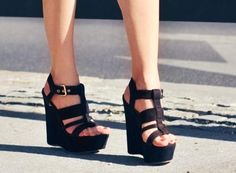 I love simple wedges.