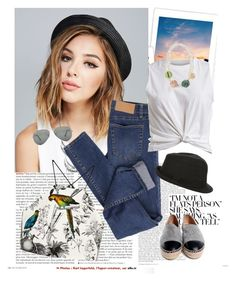 """""""Tomboy................"""" by style-stories ❤ liked on Polyvore featuring Wet Seal, Cheap Monday, Chanel, Milly, VILA and Ray-Ban"""