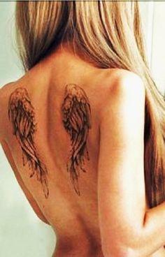 Dark Angel temporaire ailes Vampire victorienne gothique emo cross tatouage chaine rose