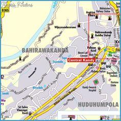 Sri Lanka Subway Map - http://travelsfinders.com/sri-lanka-subway-map.html