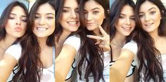 ♥ Kylie Jenner and Kendall Jenner