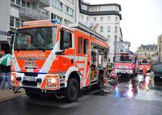 Wiesbadenaktuell: Feuer und Rauchentwicklung in Wiesbadens Innenstadt