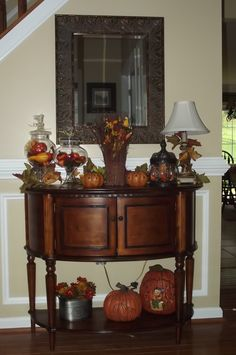 My foyer table is all falled out!