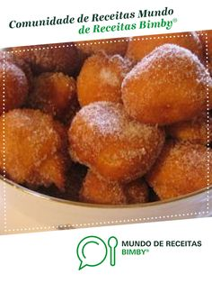 Portuguese Desserts, Pretzel Bites, Pasta, Bread, Food And Drink, Recipes, Conch Fritters, Sweet Recipes, Milkshakes