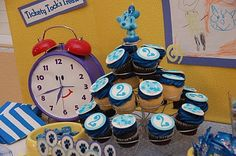 The Morales Crew: Lily's Blue's Clues Birthday @Shelby Davis