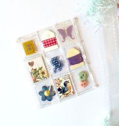 Springtime Mini Pocket Letter Planner Charm by Jackie Benedict