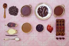 How to make heart-shaped chocolates