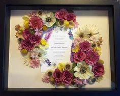 Wedding Bouquet Preserved Fl Preservation Shadow Box Example 4 I Would Like Leighflorist To Preserve My