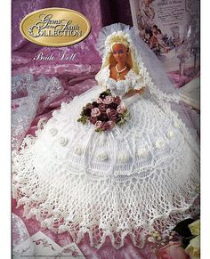 Gems of the South Collection Bride Doll by grammysyarngarden, $12.00