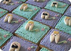 Cookies for your favorite dentist.  www.orthodontique.net