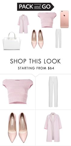 """""""Pack And Go"""" by lorenzia14 on Polyvore featuring Alexander McQueen, DKNY, Paul Smith, Michael Kors, women's clothing, women, female, woman, misses and juniors"""