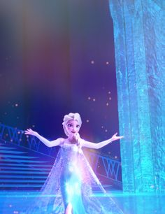 """Frozen~""""Life's too short to never let you celebrate me, the true queen of the ice and snow!"""""""