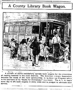 ALA book wagon (picture from The Quitman County Leader; March 12, 1920)