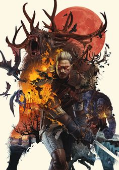 THE WITCHER 3 on Behance