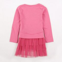 Free shipping 5pcs/lot NEW design spring & autumn in the party peppa pig long sleeve dress with three layers lace