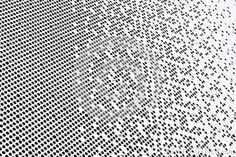 Perforated facade