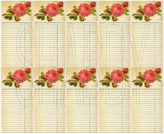 Shabby Chic sheet for scrapbook and cards  DC680 by shabbybeautiful, $2.99 USD