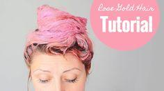 How to get Rose Gold Hair DIY Tutorial ♥ Mermaid Gossip