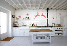Рождественские украшения для дома #дизайнинтерьера #украшение #excll  #решения