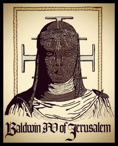Baldwin IV by Cleopatra-Hotel