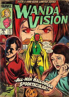 Marvel Movie Posters, Comic Poster, Marvel Characters, Comic Art, Comic Books, Scarlet Witch Marvel, Marvel Fan, Marvel Avengers, Wanda Marvel