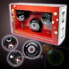 HOLGA Wide Tele Lens Adapter WTL-F8 Fuji Fujifilm Instax Mini 8 Polaroid Camera 400