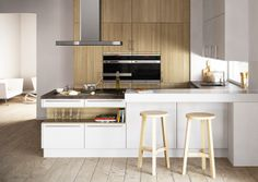Kitchen Dreams. Modern kitchen cabinets.