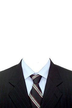 Create passport size photo with coat and tie psd free for Formal attire template