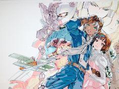 Turn A Gundam: il capolavoro di Tomino torna in Blu-ray Character Concept, Character Art, Character Design, Japanese Robot, Japanese Art, Fate Stay Night Sakura, Gundam Wallpapers, Gundam Art, Mecha Anime