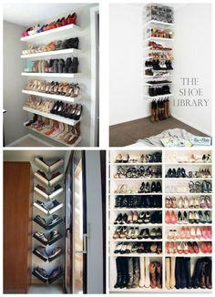 baldas para organizar los zapatos                                                                                                                                                     Más