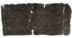 Silk Fragment, 1350-1399  Italy, mid or second half of 14th century  lampas weave; silk and silver thread, Overall - h:37.50 w:17.50 cm (h:14 3/4 w:6 7/8 inches). Gift of Mr. and Mrs. William J. Robertson 1980.219
