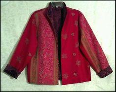 Women's Red Festive Jacket