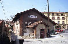 Estación de Neguri, años 80. Foto: © Joseba Geijo (ref. JG191)