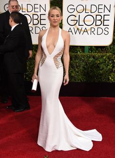 Kate Hudson in Versace - Golden Globes Red Carpet 2015 Photos: See All The Stunning Gowns Of The Night
