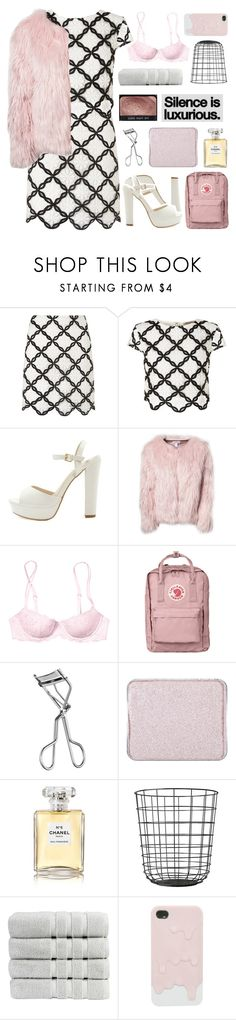 """74. LIKE TO JOIN TAGLIST // when we were on honeymoon avenue"" by xo-ashlyn-ox ❤ liked on Polyvore featuring Lipsy, Estradeur, Victoria's Secret PINK, Fjällräven, Lancôme, shu uemura, Chanel and Christy"