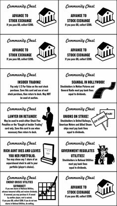 The interesting This Is A Mash Up Of Monopoly, Super Add On Monopoly And With Regard To Chance Card Template … Board Game Template, Printable Board Games, Printable Cards, Printables, Banner Template, Monopoly Party, Monopoly Board, Monopoly Game, Free Business Card Templates