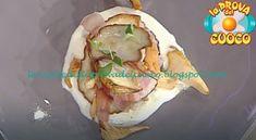Torretta di funghi porcini e speck con crema al taleggio ricetta Roberto Valbuzzi Taleggio, Pasta Al Pesto, Tacos, Ethnic Recipes, Food, Cream, Hoods, Meals