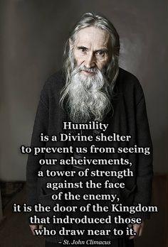 John Climacus on Humility Catholic Quotes, Catholic Prayers, Catholic Saints, Religious Quotes, Orthodox Prayers, Saint Quotes, Father Quotes, Orthodox Christianity, Christian Quotes