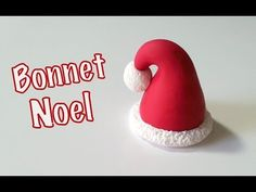 Tuto Fimo Le Bonnet de Noel - YouTube Christmas Cake Designs, Biscuit, Christmas Time, Christmas Ornaments, Polymer Clay Christmas, Pasta Flexible, Polymer Clay Beads, Air Dry Clay, Fondant Cakes