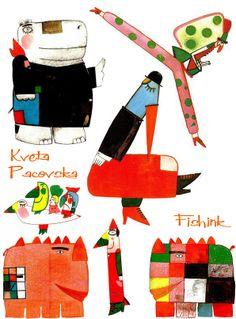 Fishinkblog 5809 Kveta Pacovska 3  Check out my blog ramblings and arty chat here www.fishinkblog.w... and my stationery here www.fishink.co.uk , illustration here www.fishink.etsy.com and here https://carbonmade.com/talent/fishink  Happy Pinning ! :)