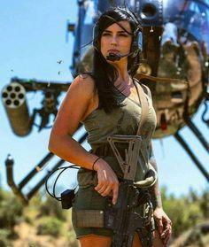 Airsoft, Alex Zedra, Jean Shrimpton, Cosplay Characters, Warrior Girl, Military Women, Weapons, Guns, Martial