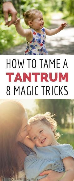 Before your toddler or preschooler throws another temper tantrum, be ready with these magic tricks! These positive parenting tips will help you maintain your calm and get your kid back to happy again. A must read for every parent of young kids! #ParentsKids&Parenst