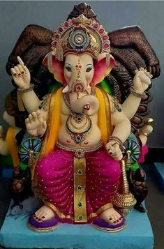 Make this Ganesha Chathurthi 2020 special with rituals and ceremonies. Lord Ganesha is a powerful god that removes Hurdles, grants Wealth, Knowledge & Wisdom. Shri Ganesh Images, Shiva Parvati Images, Ganesha Pictures, Lord Krishna Images, Ganpati Bappa Photo, Ganpati Picture, Shri Hanuman, Shree Ganesh, Durga