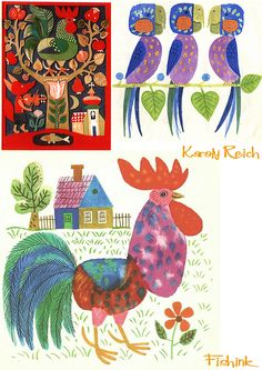 Karoly Reich, (8 August 1922 – 7 September 1988) the Hungarian born children's book illustrator