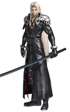 Sephiroth, Legendary Soldier B from Dissidia Final Fantasy NT