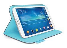 ¡Actualidad! Logitech se hace amigo de la tableta Galaxy Tab 3 de Samsung. La compañía presentó una nueva gama de fundas para la tableta Galaxy Tab 3 de Samsung. Esta línea de fundas incluye la respectiva funda, un teclado y un folio protector. #samsung #tablet #funda